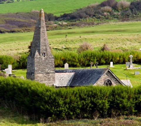 The St Enodoc Church