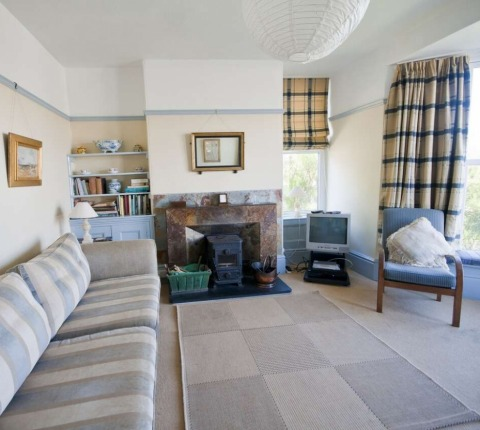 Room with a view: the sitting room at 1 Pentire View, Polzeath