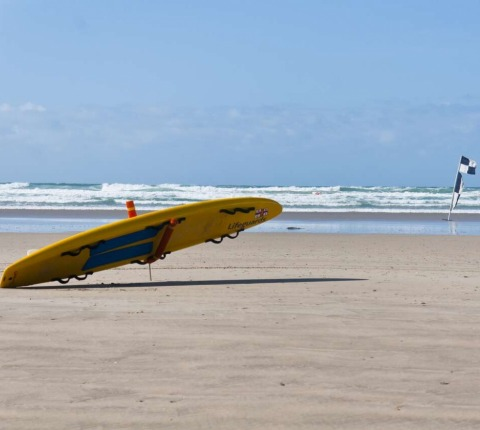 Polzeath Beach has a vigilant team of lifeguards making it the perfect Latitude 50 venue for a Polzeath Surf and Surfing Holiday
