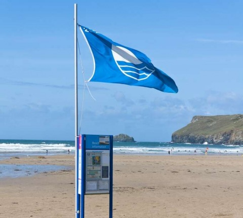 In the blue, Polzeath Beach flies its prestigious blue flag, the first-choice for a beach holiday in Cornwall; choose a Latitude 50 Polzeath Self Catering Holiday Cottage