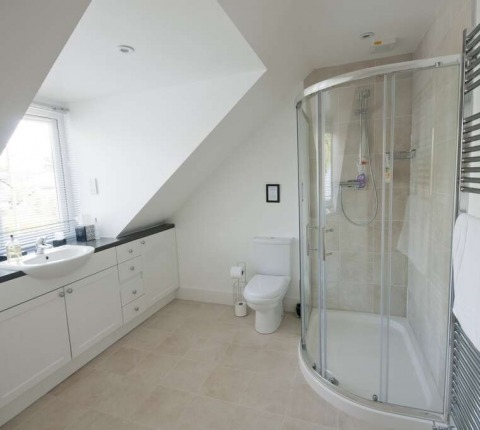 The Cottage, one of two master ensuite showerrooms